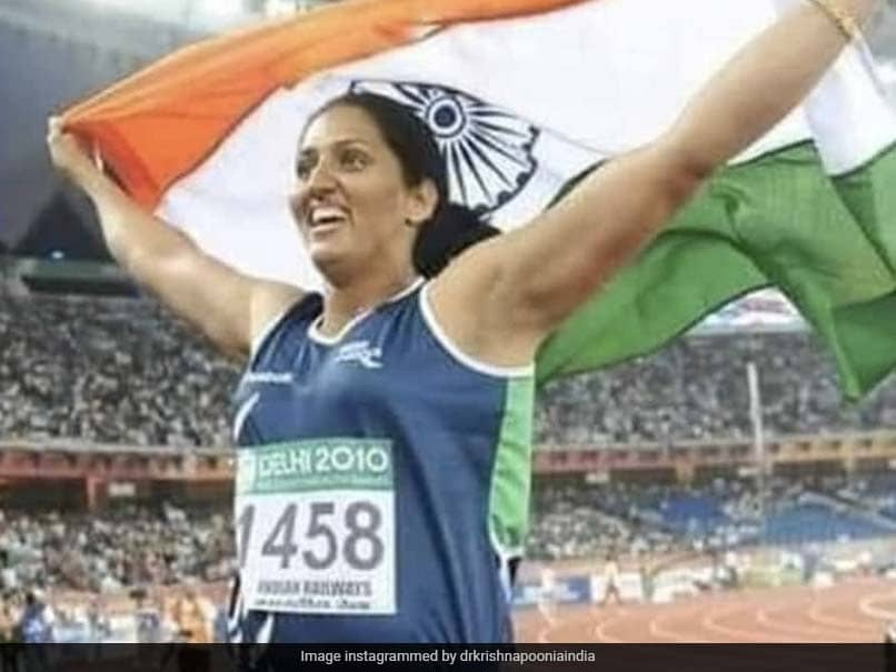 Delhi Commonwealth Games Gold Medallist Krishna Poonia Tests Positive For Coronavirus
