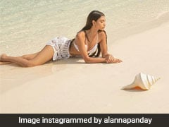 Alanna Panday In A Crochet Bikini Is Fabulous Enough For A Sunny Beach Day In Maldives