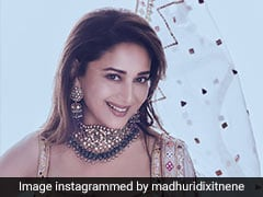 Madhuri Dixit In A Breezy Sharara Suit Gives Us Summer Fashion Inspiration