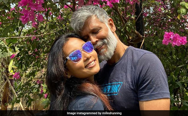 Milind Soman's 'Lockdown Laziness' Post With Wife Ankita Has A Connection To Their Wedding