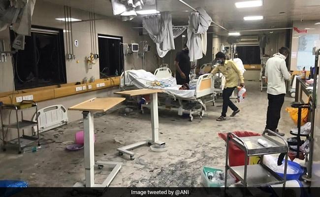 Four coronavirus patients die after fire broke out at Surats Ayush Hospital – गुजरात: सूरत के एक अस्पताल में लगी आग, 4 कोरोना मरीज़ों की मौत