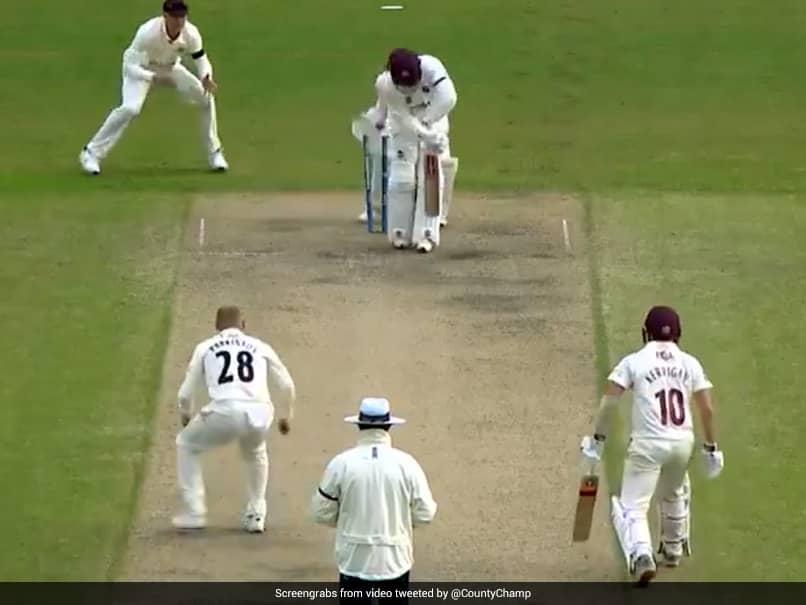 Watch England's Matt Parkinson Recreates Shane Warne's 'Ball of the Century'