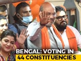 Video : Minister Babul Supriyo, Other Big-Hitters In Bengal Polls Round 4 Today