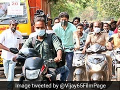 Tamil Actor Vijay Cycles To Vote. He Wasn't Making A Point, Says His Team