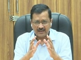 "Video : ""Will Extend Weekend Lockdown If Needed,"" Says Arvind Kejriwal"