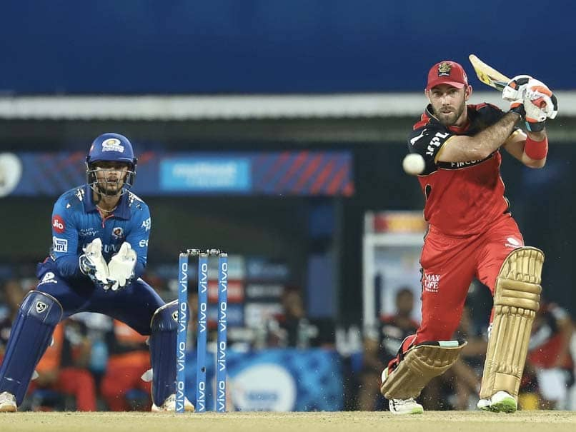 MI vs RCB: Be ready to see Glenn Maxwell these sensational shots this time VIDEO