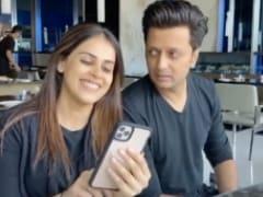 Riteish Deshmukh's Throwback Video With Genelia Will Make You ROFL