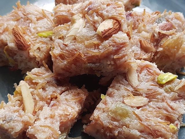 Video : How To Make Sevaiya Ki Burfi | Easy Sevaiya Ki Burfi Recipe Video