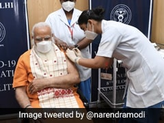 "PM Modi's Four Appeals As ""Tika Utsav"" To Step Up Vaccine Coverage Starts"