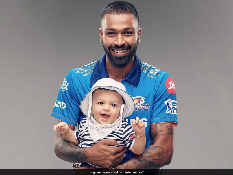 """""""Our Tiny Miracle"""": Hardik Pandya Posts Adorable Pic With Son Agastya"""