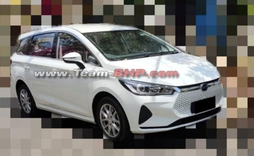 The BYD e6 will be sold in India as a CBU.