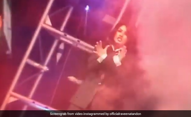 Missing The 'Thrill' Of Live Concerts, Raveena Tandon Digs Out Throwback Video From 2000