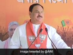 JP Nadda Hits Out At Mamata Banerjee For ''Skipping'' PM's COVID-19 Meet