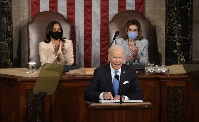 'Madam Speaker. Madam Vice President': History Made At Biden Speech