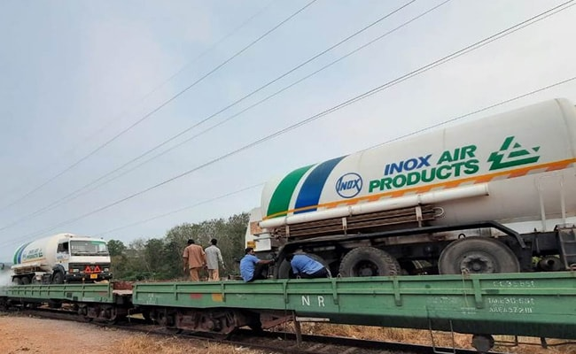 Nearly 8,700 Tonnes Of Liquid Medical Oxygen Delivered Across India: Railways