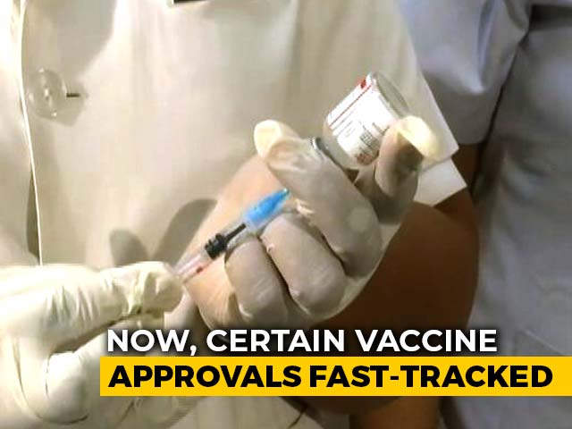 Video : Government's Big Move On Foreign-Produced Vaccines Amid Covid Battle