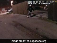 शिकागो में जारी हुआ 13 साल के बच्चे को पुलिसकर्मी के गोली मारने का वीडियो