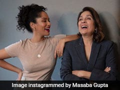 """Sending Palak Paneer And Paratha,"" Neena Gupta's Message For Daughter Masaba Is Just So Relatable"