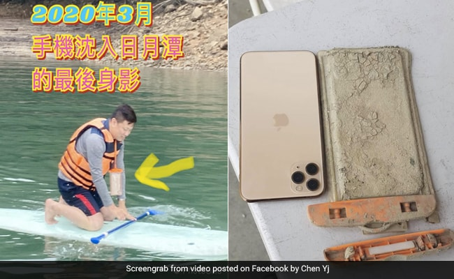 Drought Helps Man Recover iPhone Dropped In Lake A Year Ago. It Still Works
