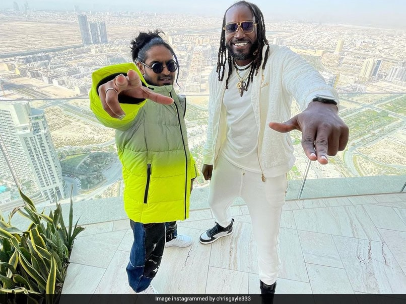 IPL 2021: Chris Gayle Releases Music Video With Indian Rapper. Watch