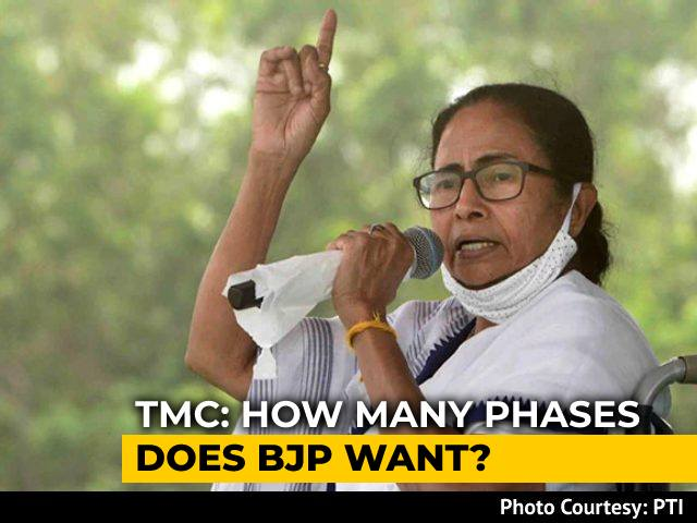 """Video : """"Wrap Up 4 Rounds Of Voting In A Day"""": Mamata Banerjee To Election Body"""