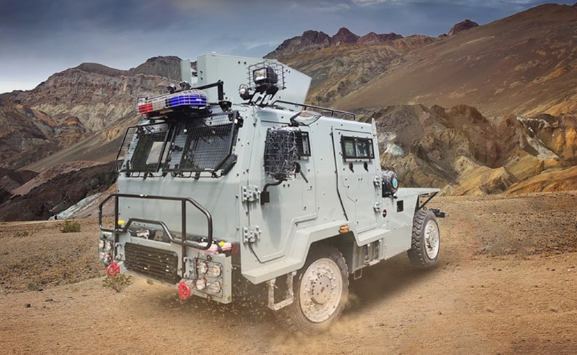These armoured vehicles can withstand any type of bullet and grenade attacks