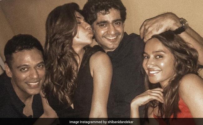 Shibani Dandekar In A Throwback With Fellow IPL 'Geeks' Archana Vijaya, Gaurav Kapur And Samir Kochhar