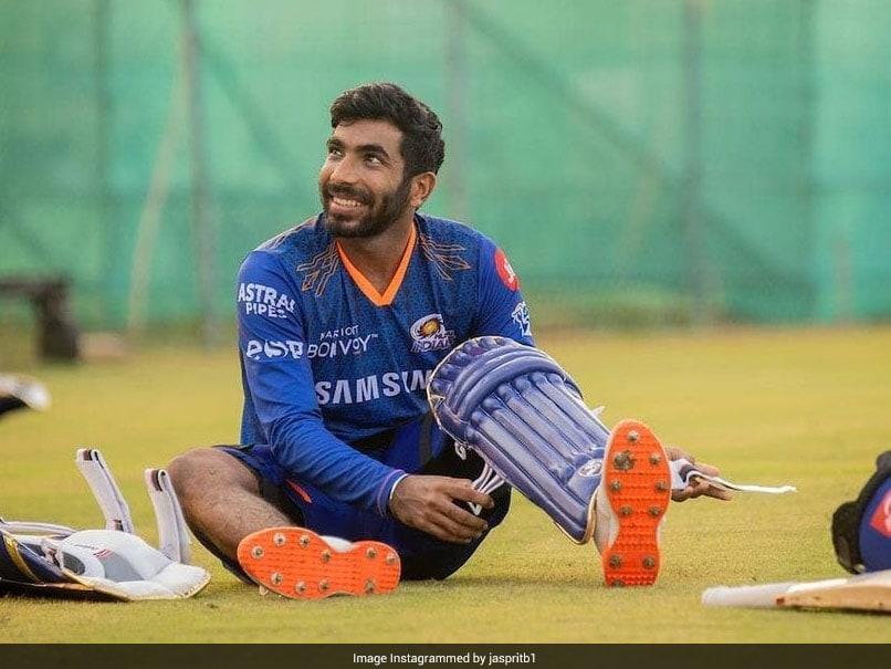 IPL 2021: Jasprit Bumrah Pads Up In Mumbai Indians Training. See Pics