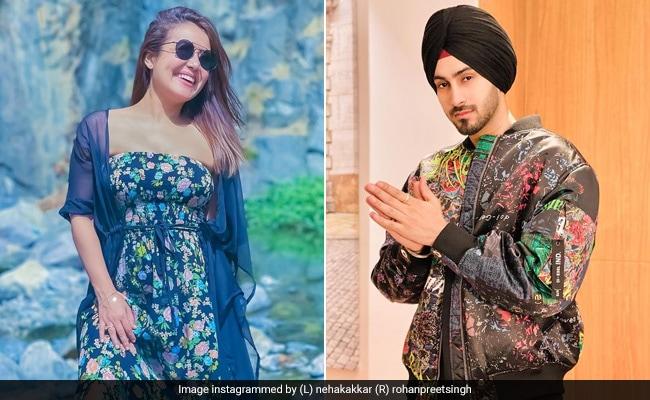 Neha Kakkar's Adoring Husband Rohanpreet Singh Agrees That She's From 'Heaven'