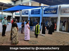 Puducherry Election Results 2021 Updates: N Rangaswamy's AINRC+ Takes The Lead
