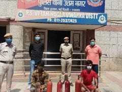 2 Sold Fire Extinguisher As Oxygen Cylinder To Delhi Woman, Arrested