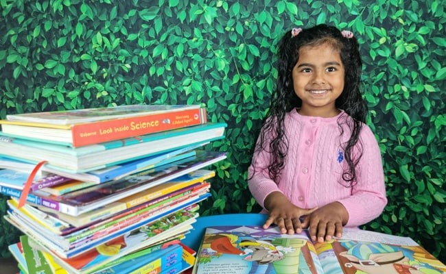 Indian-American, 5, Reads 36 Books Nonstop In 105 Minutes, Sets Record