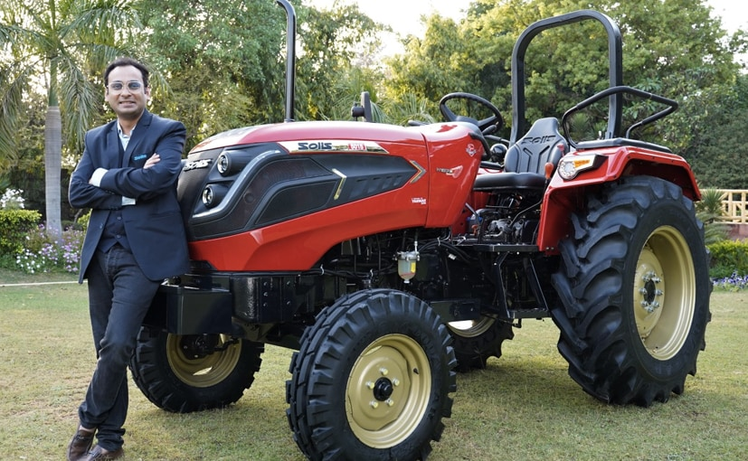 The Solis Hybrid 5015 is India's first hybrid tractor.