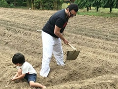 "Earth Day 2021: Kareena Kapoor Posts Pic Of Her ""Favourite Boys"" Farming"