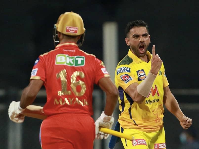 IPL 2021: Deepak Chahar Stuns Punjab Kings As Chennai Super Kings Ease To 6-Wicket Win