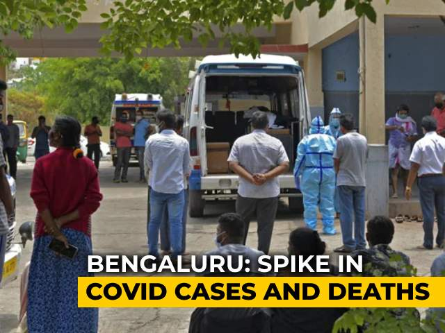 Video : Karnataka Allots More Land For Emergency Crematoriums As Covid Rages