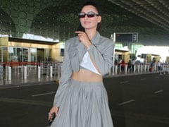 Greys Never Looked This Chic, Thanks To Urvashi Rautela's Co-Ord Set And Rs 22K Versace Shades