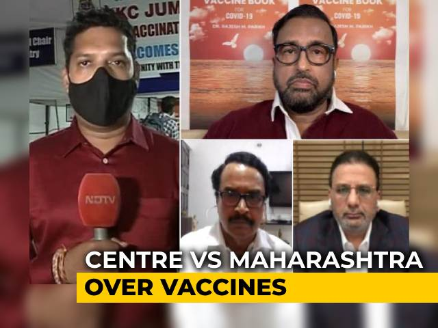 Video : Maharashtra Grapples With Vaccine Shortage As Politics Takes Over