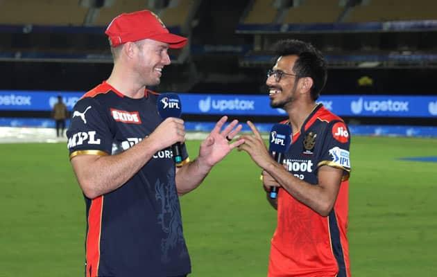 """Watch: Chahal Interviews """"Mr 360"""" AB De Villiers After RCB Hammer KKR"""
