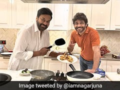 When South Superstars Chiranjeevi And Nagarjuna Bonded Over Dinner