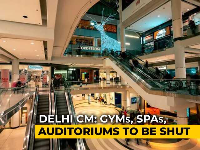 Video : Weekend Curfew In Delhi; Malls, Gyms Shut, Home Delivery For Restaurants