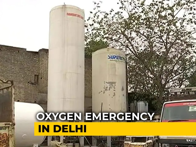 Video : Delhi Had Big Role In Current Oxygen Crisis: Sources To NDTV