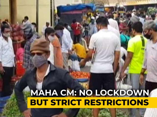 Video : New Restrictions In Maharashtra From Tomorrow. See What's Allowed