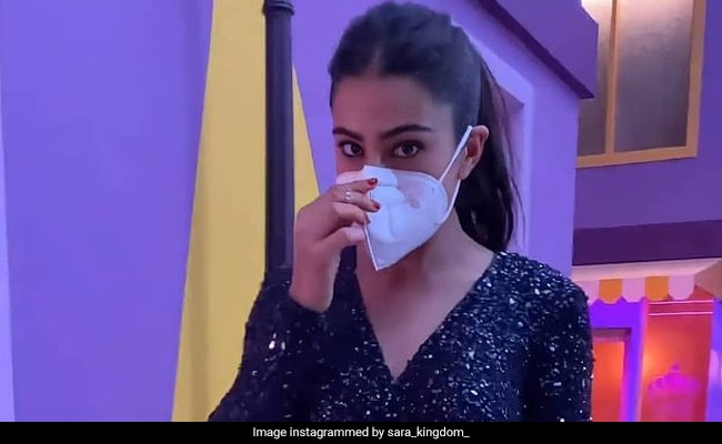 Just In Case You Missed It, Sara Ali Khan's Musical Reminder To Wear Masks