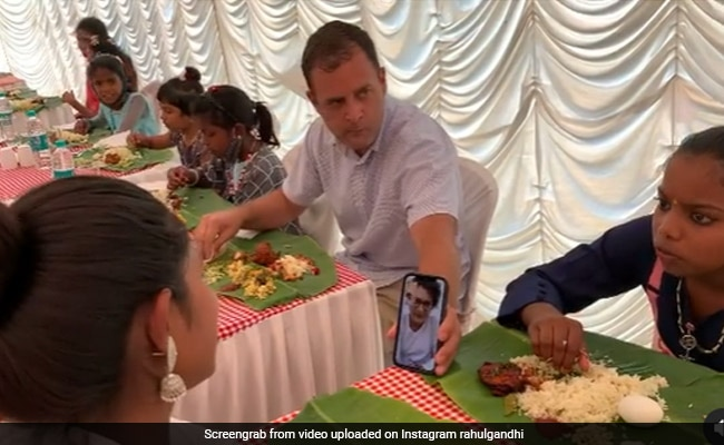 """""""Wonderful New Friends"""": Rahul Gandhi's Instagram Post At Easter Lunch"""