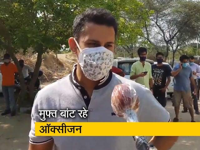 Video : जरूरतमंदों को मुफ्त ऑक्सीजन बांट रहा हेमकुंड फाउंडेशन