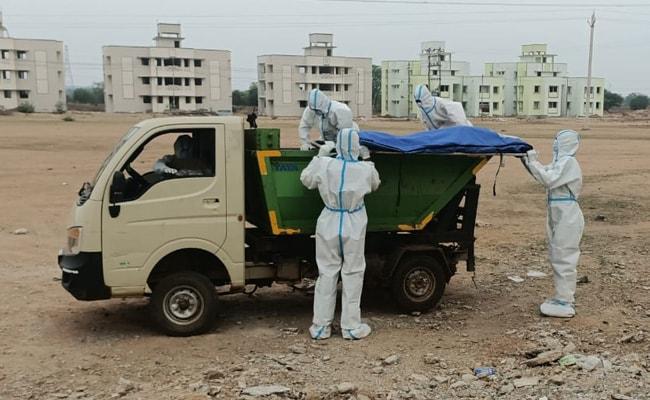 Garbage Van Ferries Covid Patients' Bodies To Chhattisgarh Crematorium