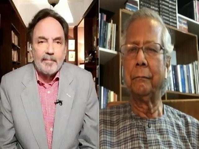 Video : Financial Systems Don't Cater To People Below Poverty Line: Muhammad Yunus