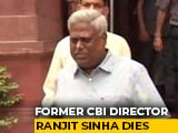 Video : Ranjit Sinha, Former CBI Chief, Dies At 68