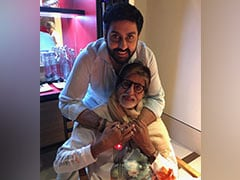 """Pride Of A Father,"" Writes Amitabh Bachchan After The Success Of Abhishek's <I>The Big Bull</i>"